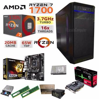 R.E.D Gaming WiFi CPU, AMD RYZEN 7 1700 8-Core 3.0 GHz AM4 65W Price Philippines
