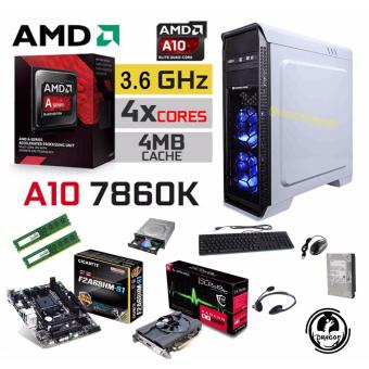 R.E.D. Gaming Frontliner 16GB. AMD A10-7860K Godavari 12 Compute Cores (4 CPU + 8 GPU) 3.6GHz  Price Philippines