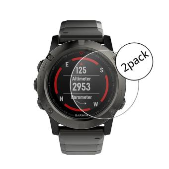 PopSky Tempered Glass Premium 9H 2*Pack Film Screen Protector for Garmin Fenix 5X - intl Price Philippines