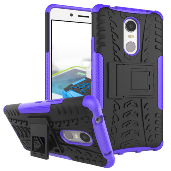 BYT Rugged Dazzle Case for Lenovo K6 Note with Kickstand (Purple) Price Philippines