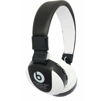 Harga Beats by Dr. Dre MS-771E Bluetooth FM/MP3 Headphone (white/black)