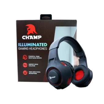 CHAMP Illuminated Gaming Headphones Price Philippines