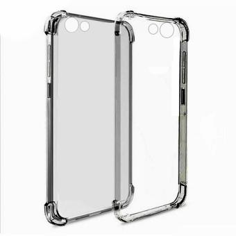 Harga German Import Drop Resistant Silicone Clear Case for Vivo V5 (Smoke)