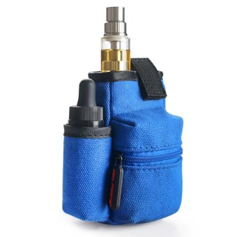 Harga Coil Master Portable Pouch Bag for Electronic Cigarette (Blue)