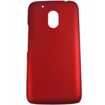 Harga Rubberized Hard Case for Motorola Moto G4 Play (Red)