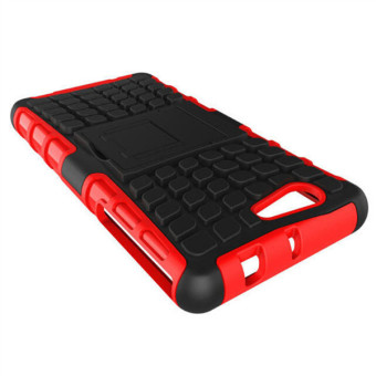 Harga Hybrid Case for Sony Xperia Z3 Compact Red/Black - intl