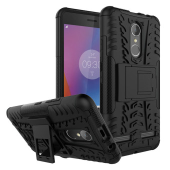BYT Rugged Dazzle Case for Lenovo K6 with Kickstand (Black) Price Philippines