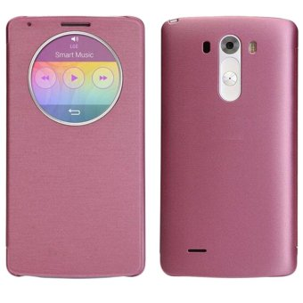 Harga Quick Circle Case Cover With Qi Wireless Charging+Nfc For LG G3 D855 D850 Pink - intl