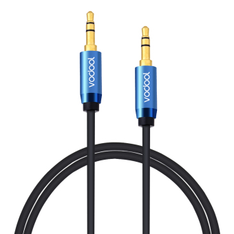Harga VODOOL 1.5m Male to Male Audio Cable Premium Auxiliary Audio AUX Copper Core Cable PVC 3.5mm Audio Cable for Audio Signal Transmission - intl