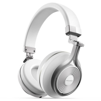 Bluedio T3 (Turbine 3rd) Extra Bass Wireless Bluetooth 4.1 Stereo Headphones (White) Price Philippines