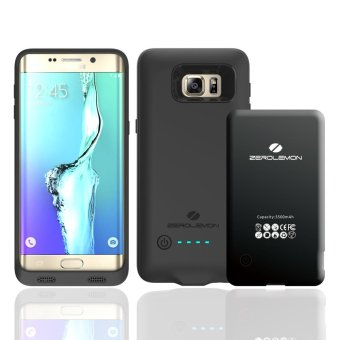 Harga ZeroLemon Battery for Galaxy S6 Edge Plus 3500mAh with Soft Edge TPU Case