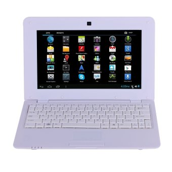10 Inch WM8880 1GB Mini Laptop Netbook Android Computer Notebook Wifi External 3g Camera (White) - intl Price Philippines