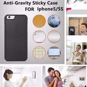Harga Anti-Gravity Sticky Case for iPhone 5/5S (Black)