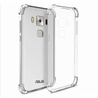 German Import Shockproof Silicone Clear Case for ASUS Zenfone 3 Max (ZC553KL) (Clear) Price Philippines