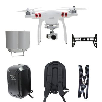 DJI Phantom 3 Standard FPV Drone With 2.7k Hd Camera Gimbal Bag Shoulder Neck Strap - Intl Price Philippines