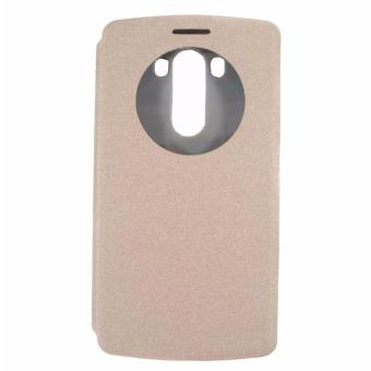 Harga Leather Case for LG G3 (Gold)