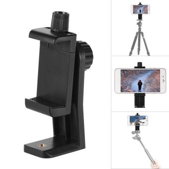 Harga Andoer CB1 Plastic Smartphone Clip Holder Stand Support Clamp Frame Bracket Mount for iPhone 7/7s/6/6s for Samsung Huawei Cellphone Selfie Portrait Outdoor Video - intl