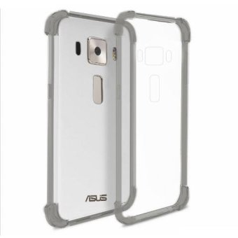 "German Import Shockproof Silicone Clear Case for ASUS Zenfone 3 (5.2"") (ZE520KL) (Smoke Grey) Price Philippines"