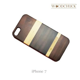 Harga Woodchuck Ebony Wooden Phone Case (iPhone 7) (Brown)