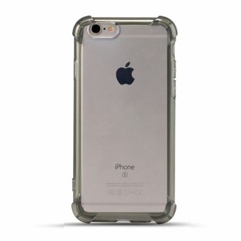 German Import Drop Resistant Silicone Clear Case for Apple iPhone 6/6s (Smoke) Price Philippines