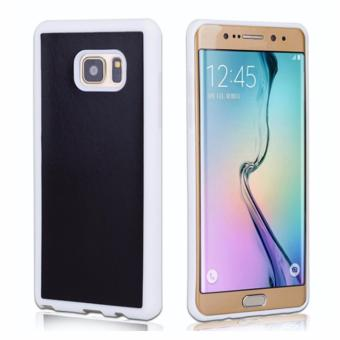 Harga Anti-Gravity Selfie Magical Sticky Rubber Case Cover For Samsung Galaxy S7 Edge (White)