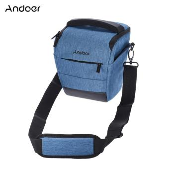 Harga Andoer Portable DSLR Camera Shoulder Bag Sleek Polyester Camera Case for 1 Camera 1 Lens and Small Accessories for Canon Nikon Sony Fujifilm Olympus Panasonic - intl
