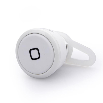 High Quality Mini Headset Bluetooth Earphone Headphone In-Ear (White) Price Philippines