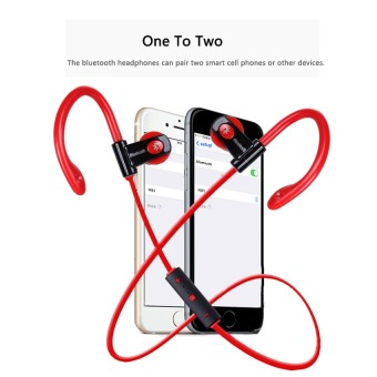 2016 Best Quality TTLIFE Sport Bluetooth Headphone Sweatproof Wireless Ear-hook Headset (red) Price Philippines