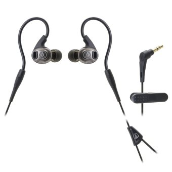 Harga Audio Technica ATH-SPORT3 Sonic Sport In-Ear Headphones (Black)