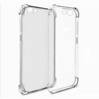 Harga German Import Drop Resistant Silicone Clear Case for Vivo V5 (Clear)