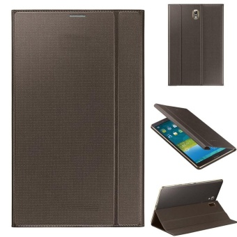 Harga Ultra Slim Leather Cover Case For Samsung Galaxy Tab S 8.4Inch T700 Golden(Gold) - intl