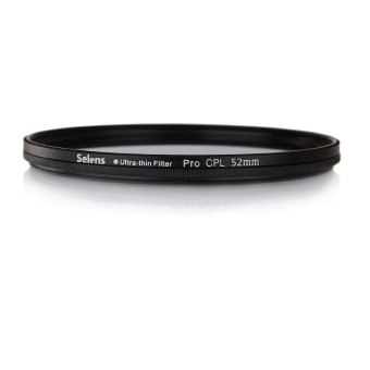 Harga Selens 52mm PRO Ultra-thin CPL Polarizing Lens Filter for Canon Nikon Sony Sigma