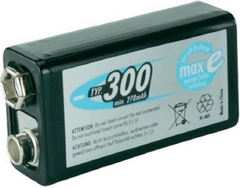 Ansmann NiMH maxE 8.4V E300 Rechargeable Battery Price Philippines