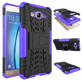 BYT Rugged Dazzle Case for Samsung Galaxy On 7 2016 with Kickstand (Purple) Price Philippines
