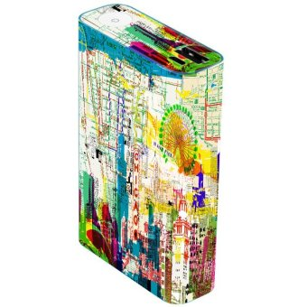 OddStickers Skin Cover for Asus ZenPower Skyline Pattern (Multicolor) Price Philippines