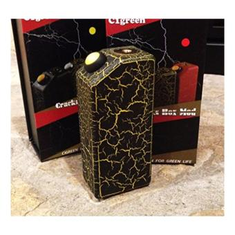 Harga cigreen crack box mod (mod only) black/yellow