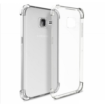 Harga German Import Shockproof Silicone Clear Case for Samsung Galaxy J1 Mini (Clear)