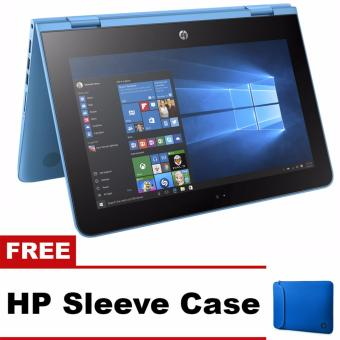 "HP Pavilion x360 11-AB003TU 11.6"" Intel Pentium N3710 4GB Convertible Netbook with Free HP Sleeve Case Price Philippines"