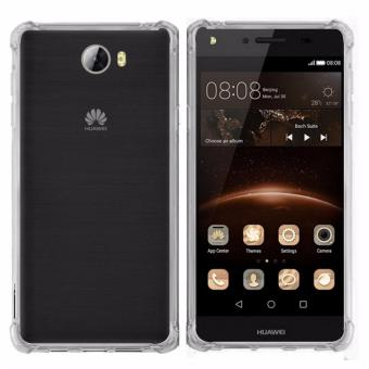 German Import Shockproof Silicone Clear Case For Huawei Y5-II (Clear) Price Philippines