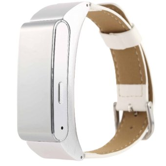 Harga Fashion design M8 bluetooth 4.0 blood pressure monitor?watch(Silver)