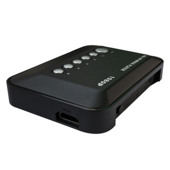 Hard Drive Upscaling Multi Media Player (Black) Price Philippines