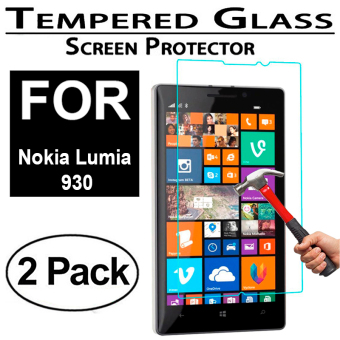 Harga 2x Tempered Glass Screen Protector For Nokia Lumia 930 - Intl