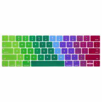 Rainbow Keyboard protector 13 inch for Apple Mac-book Air / Mac-book Pro / Mac-book Retina (Muticolor) Price Philippines
