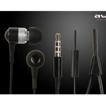Harga Awei ES-Q3 In-Ear Earphone Noise Isolation (Sliver)