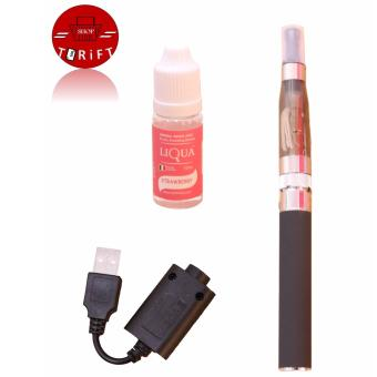 Harga SHOP AND THRIFT CE5 E-Cigarette (Black) with Smoke Juice