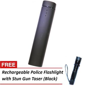 Rich 4,000mah powerbank with built-in speaker and stand (black) with free 1101 stun gun taser flashlight Price Philippines