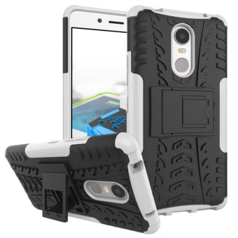BYT Rugged Dazzle Case for Lenovo K6 Note with Kickstand (White) Price Philippines