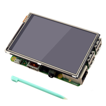 3.5 inch 320 x 480 RGB Pixels HD Display Touch Screen with Touch Pen for Raspberry Pi 2 3 Model B - intl Price Philippines