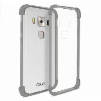 "German Import Shockproof Silicone Clear Case For Asus Zenfone 3 Max (5.5"") (ZC553KL) (Smoke Grey) Price Philippines"