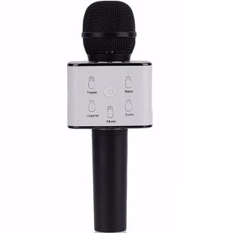 Portable Karaoke USB Playback Microphone With Speaker For Smartphones (Black) Price Philippines